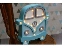 Drewniana lampa LED - AUTO VAN