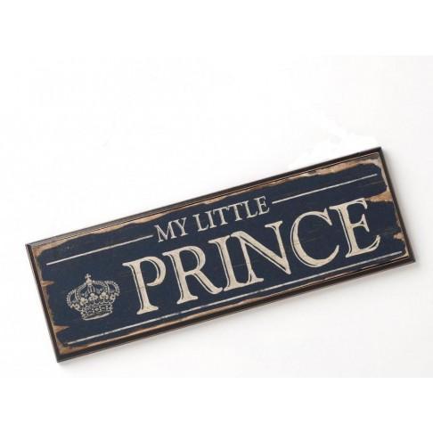 Zawieszka - tabliczka dla małego księcia