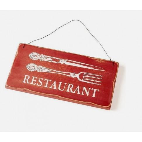 Zawieszka - tabliczka - Restaurant