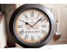 Zegar metalowy - Chateau Canet -