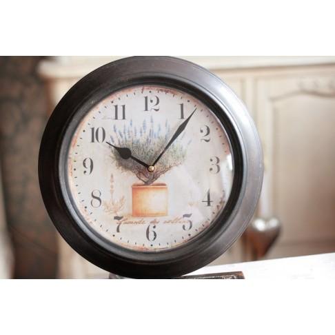Zegar metalowy - Lavande 2 -