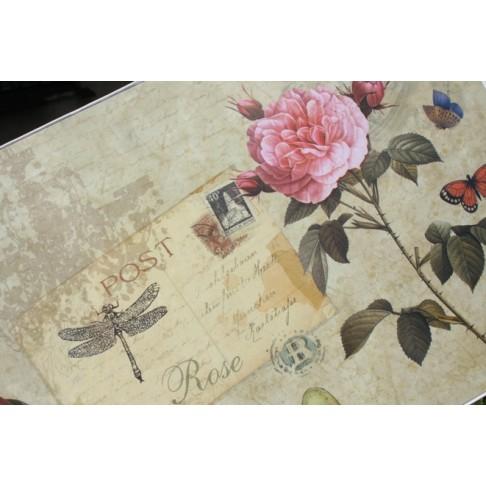 Podkładki korkowe - Róża - 29x22