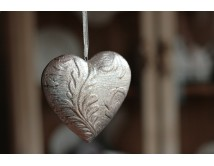 Serduszko ceramiczne Silver