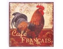 Tabliczka z kogutem Francais
