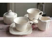 Komplet kawowy z cukiernicą i mlecznikiem - Amelie
