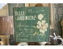 Tabliczka Belle Jardiniere