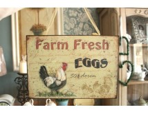 Tabliczka Farm Eggs cream