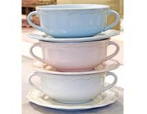 Ceramiczna bulionówka Blue Sky