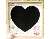 Tablica  Memory  z  sercem