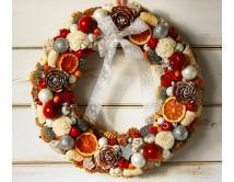 """Wieniec na Boże Narodzenie """"Rustic Xmas"""
