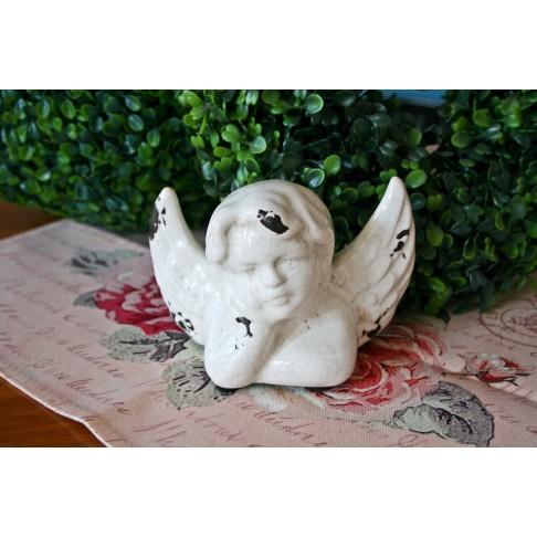 Anioł ceramiczny M