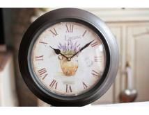 Zegar metalowy - Lavande -