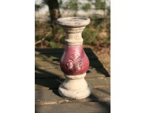 Świecznik terracotta Purple 23 cm