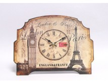 Zegar London - Paris